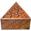 Boîte à secrets triangulaire 7 mouvements