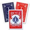 Bicycle Magic double dos rouge/bleu