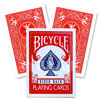 Bicycle Magic double dos rouge