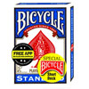 Bicycle Magic Short Deck dos bleu