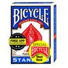 Bicycle Magic Short Deck dos bleu