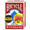 Bicycle Magic Short Deck dos rouge
