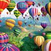 """Puzzle en bois Wentworth """"Sky roads"""" 250 pièces"""