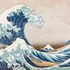 """Puzzle en bois Wentworth """"La Vague – Hokusai"""" 250 pièces"""