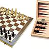 Échecs - Backgammon 28cm