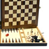 Coffret Échecs-Dames-Backgammon