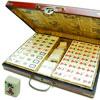 Grand Mahjong tuiles résine XXL, coffret style ancien