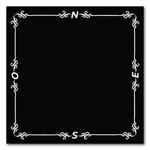 Acheter Tapis Pro De Bridge 78x78 Noir