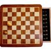 Echecs magnétiques 30cm  marqueté tiroir (non pliable)