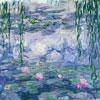 Nympheas et saules - Monnet - puzzle Michèle Wilson 650 pièces