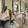 La classe de danse - Degas - puzzle Michèle Wilson 250 pièces