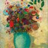 Vase turquoise - Odilon Redon - puzzle Michèle Wilson 150 pièces