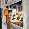La Chapellerie - Macke - puzzle Michèle Wilson 250 pièces