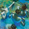 Danseuses bleues - Degas - puzzle Michèle Wilson 350 pièces