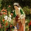 Dans le Jardin - Lewis - puzzle Michèle Wilson 80 pièces