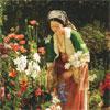 Dans le Jardin - Lewis - puzzle Michèle Wilson 900 pièces