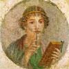 Portrait d'une jeune femme - Moyen Age - puzzle Michèle Wilson 80 pièces