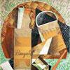 La Bouteille De Banyuls- Juan Gris - puzzle Michèle Wilson 150 pièces