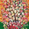 Feuilles - Séraphine de Senlis - puzzle Michèle Wilson 80 pièces