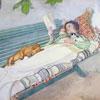 Femme Couchée - Larsson - puzzle Michèle Wilson 250 pièces