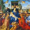 La Fête Des Roses - Durer - puzzle Michèle Wilson 250 pièces