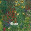 Jardin aux tournesols - Klimt - puzzle Michèle Wilson 150 pièces