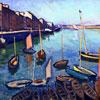 Le Port, le Havre - puzzle Michèle Wilson 80 pièces