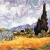 Les Blés Jaunes - Van Gogh - puzzle Michèle Wilson 150 pièces