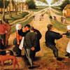 Kermesse de Village - Bruegel - puzzle Michèle Wilson 350 pièces