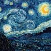 Nuit Etoilée - Van Gogh - puzzle Michèle Wilson 350 pièces