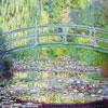 Le Pont Japonais - MONET - puzzle Michèle Wilson 350 pièces