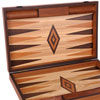Backgammon Premium en olivier 60cm