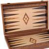 Backgammon aspect chêne 60cm