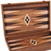 Backgammon aspect noyer 60cm