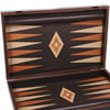 Backgammon aspect wengé 60cm