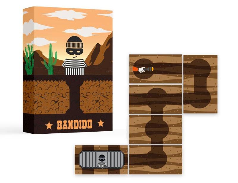 Visuel du jeu de cartes Bandido