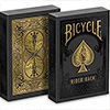 Cartes Bicycle Black and Gold