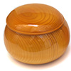 Bols en torreya jaune (shinkaya)