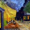 Le café le soir - VAN GOGH - puzzle Michèle Wilson 250 pièces