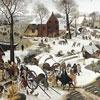 Le dénombrement de Bethléhem - Bruegel -  - puzzle Michèle Wilson 350 pièces
