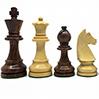 Pièces échecs 76mm CLASSIC buis/Sheesham (boîte bois)