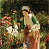 Dans le Jardin - Lewis - puzzle Michèle Wilson 200 pièces boîte métal