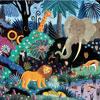 Nuit dans la jungle  - puzzle Michèle Wilson 50 pièces BOÎTE KRAFT