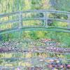 Le Pont Japonais - Monnet - puzzle Michèle Wilson 24 pièces BOÎTE KRAFT