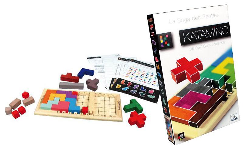 Gigamic  Katamino Classic  Katacla  3760025102796 Jeux et jouetsBien