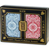 Cartes KEM Arrow Wide Jumbo Rouge/Bleu (2 jeux)