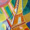 Tour Eiffel - DELAUNAY - Minipuzzle Michèle Wilson 40 pièces