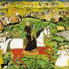 Sayyid Jamal - école moghole- puzzle Michèle Wilson 350 pièces