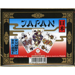 """Coffret 2 jeux de 55 cartes """"Japan""""- Piatnik"""