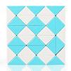 Snake QiYi 36 blocs bleu/blanc